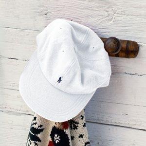 authentic RALPH LAUREN baseball cap WHITE NWT